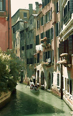 Photograph - Venetian Canal by Lisa Kaye