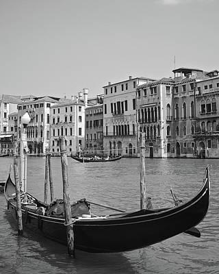 Photograph - Venetian Canoe by Matt MacMillan