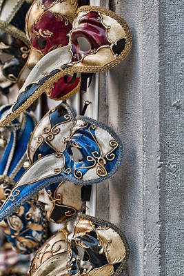 Photograph - Venetian Carnival Masks by Kim Wilson