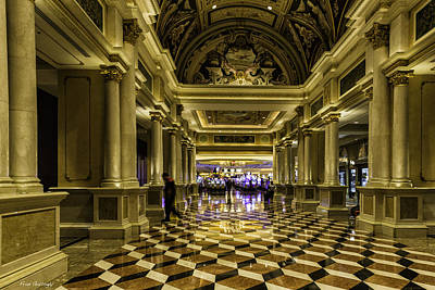 Photograph - Venetian Casino by Fran Gallogly