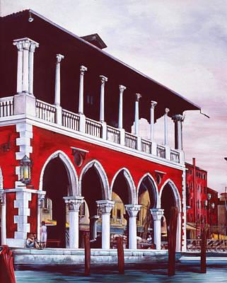 Wall Art - Painting - Venetian Charm by Gaye Elise Beda