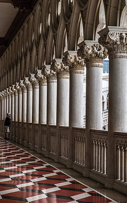 Photograph - Venetian Columns by Framing Places