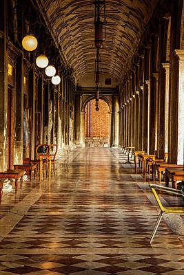 Venezia Photograph - Venetian Corridor by Andrew Soundarajan