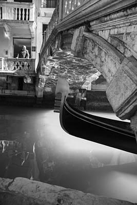 Venetian Daily Scene Art Print by Yuri Santin