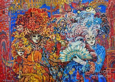 Venetian Fantasy Art Print by Andrey Soldatenko