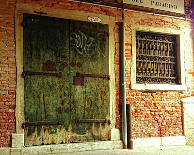 Photograph - Venetian Graffiti by Anne Kotan