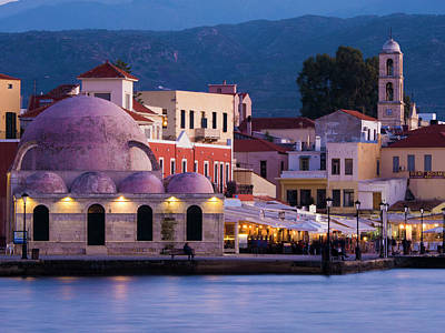 Photograph - Venetian Harbour In Chania by Rae Tucker