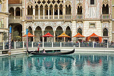 Photograph - Venetian Las Vegas by Tatiana Travelways