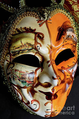 Photograph - Venetian Mask 3 by Steve Purnell