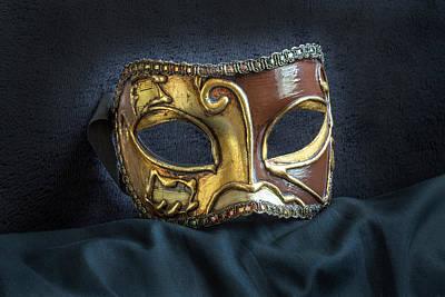 Photograph - Venetian Mask by David Hare