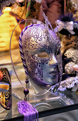Photograph - Venetian Mask by John Hoey