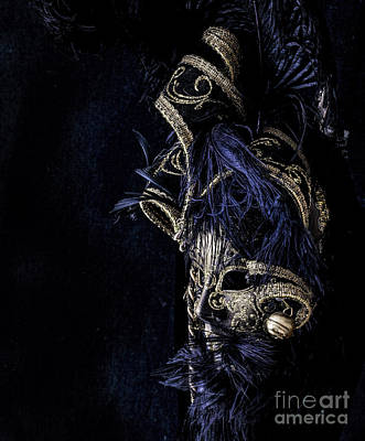 Photograph - Venetian Mask by Shirley Mangini