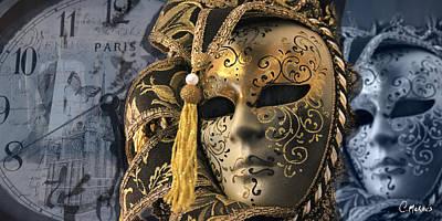 Venetian Masks Original by Cesar Moraes