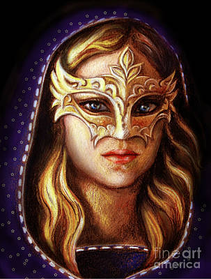 Pastel - Venetian Mystery by Stoyanka Ivanova