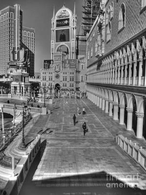 Photograph - Venetian Plaza by David Bearden