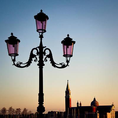 Venetian Sunset Print by Dave Bowman