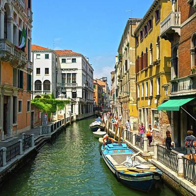 Photograph - Venetian Sunshine by Anne Kotan
