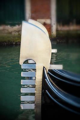 Vertical Photograph - Venetian Symbol by Andrew Soundarajan