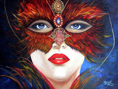 Painting - Venetian Tigress by Leonardo Ruggieri