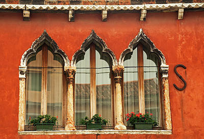 Photograph - Venetian Trifecta by Doug Davidson