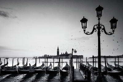 Monochromatic Photograph - Venetian View by Andrew Soundarajan
