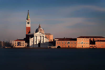 Photograph - Venetian View At Dusk by Andrew Soundarajan