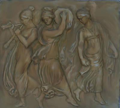 Venetian Water Bearer's Art Print
