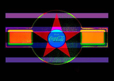 Coca-cola Painting - Venetion Neon by Charles Stuart