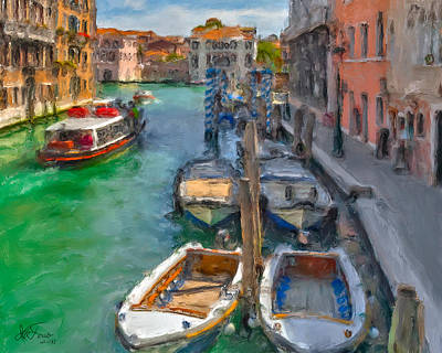 Art Print featuring the photograph Venezia. Cannaregio by Juan Carlos Ferro Duque