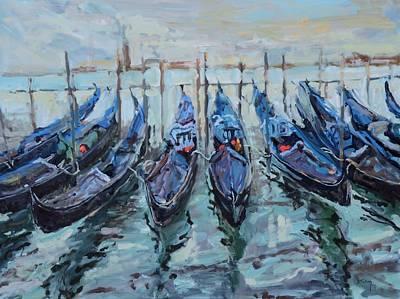Donna Summer Painting - Venezia by Donna Tuten