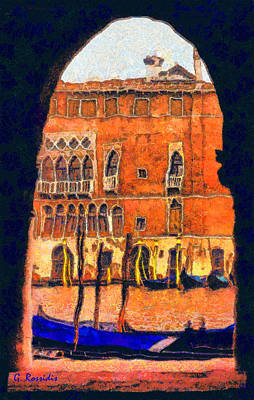 Wetland Painting - Venezia by George Rossidis