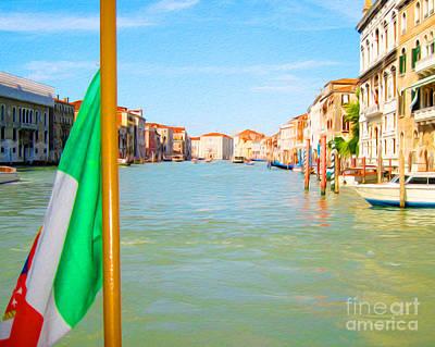 Digital Art - Venezia by Joseph Re