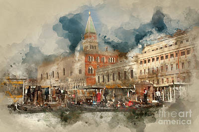 Photograph - Venezia San Marco by Jack Torcello