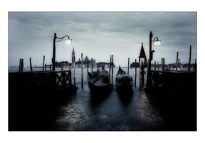 Toscana Digital Art - Venice - Italy by Marco Hietberg