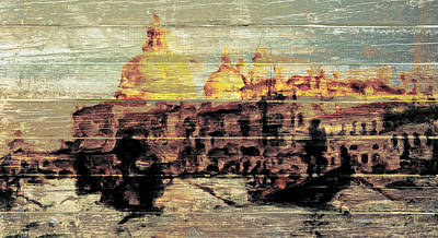 Autumn Landscape Mixed Media - Venice 023 by Brian Reaves