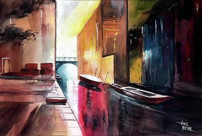 Painting - Venice 1 by Anil Nene