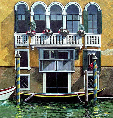 Painting - Venice 1 by James R Hahn