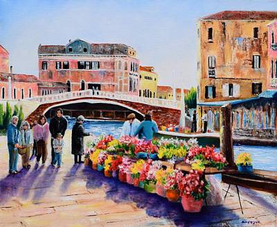 Michael Mcgrath Painting - Venice 11 by Michael McGrath