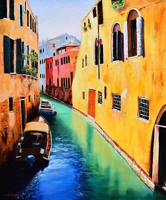 Michael Mcgrath Painting - Venice 13 by Michael McGrath
