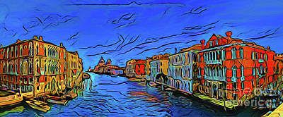 Photograph - Venice 17118-1 by Ray Shrewsberry
