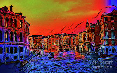 Photograph - Venice 17118-2 by Ray Shrewsberry