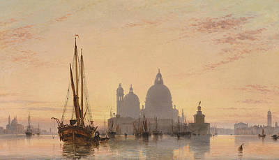 Italian Landscapes Painting - Venice, 1851 by Edward William Cooke