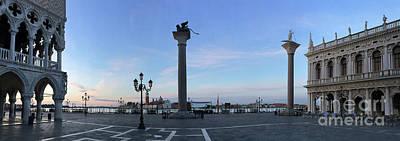 Impressionist Landscapes - Venice 3152 by Jack Schultz