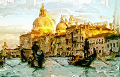 Lateran Painting - Venice 4a by Brian Reaves