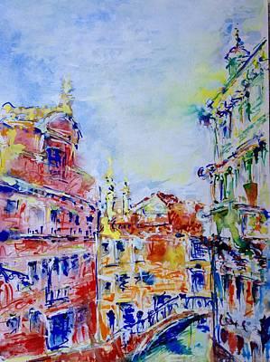 Painting - Venice 6-28-15 by Vladimir Kezerashvili