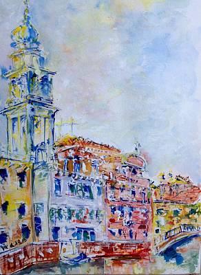 Painting - Venice 6-29-15 by Vladimir Kezerashvili