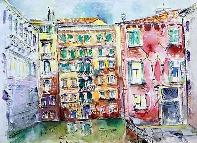 Painting - Venice-6-30-15 by Vladimir Kezerashvili