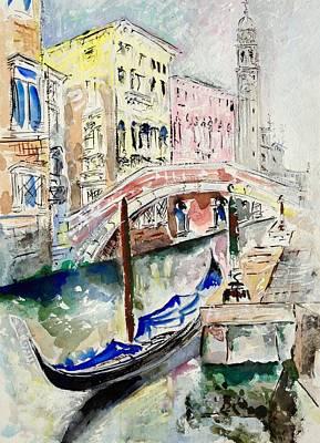 Painting - Venice-7-15 by Vladimir Kezerashvili