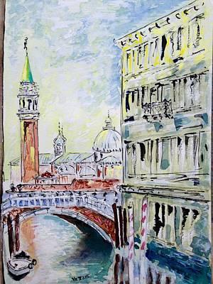 Painting - Venice 7-2-15 by Vladimir Kezerashvili