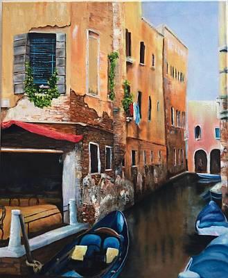 Michael Mcgrath Painting - Venice 7 by Michael McGrath